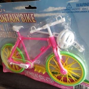 Barbie doll mountain bike 1998